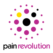 pain revolution logo of dots